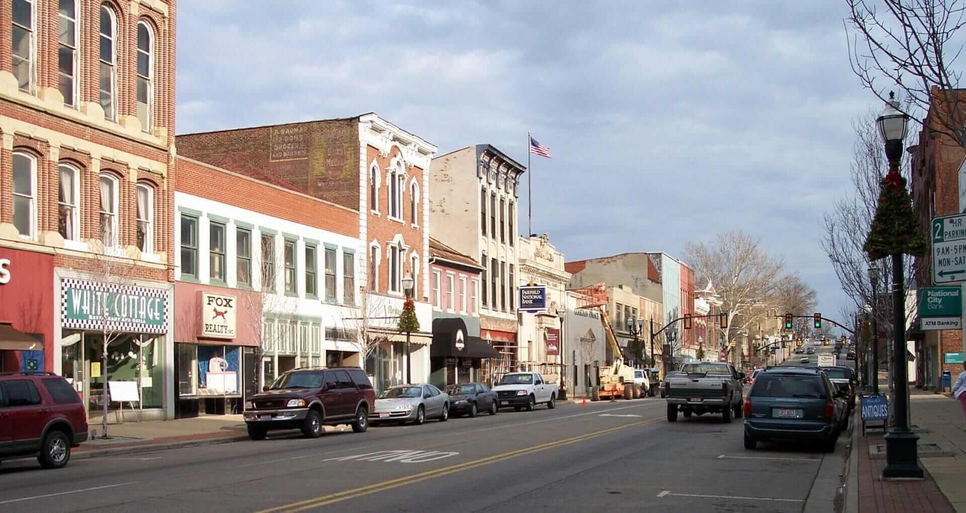 Main Street in Lancaster Ohio